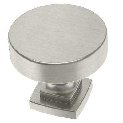 Classic Bell 1-1/4 in. (32 mm) Satin Nickel Cabinet Knob