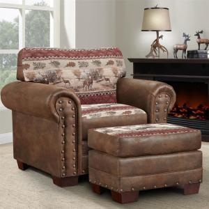 Outstanding American Furniture Classics Deer Valley Rustic Tapestry Machost Co Dining Chair Design Ideas Machostcouk