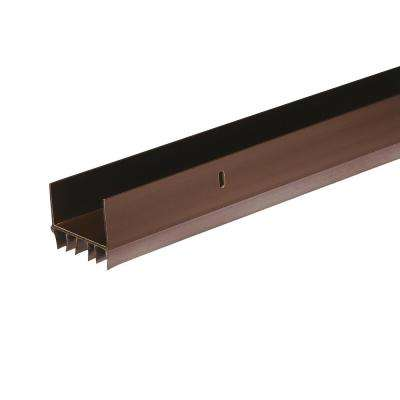 E/O 1-3/4 in. x 36 in. Brown Slide-On Door Bottom