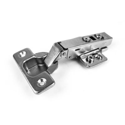 "40 Face Frame Nickel Cabinet Hinges Euro Concealed 1//2/"" Open 110 Degree 35mm Cup"