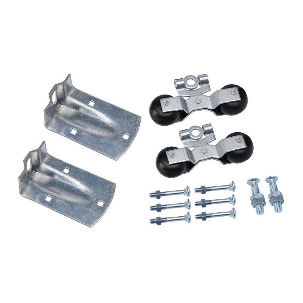 Crown Bolt Zinc-Plated Flexible Round Rail Hanger Kit