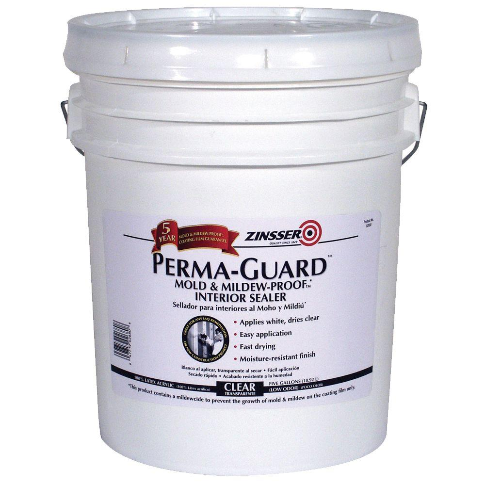 Zinsser 5-gal. Perma-Guard Mold & Mildew Proof Interior Sealer-DISCONTINUED