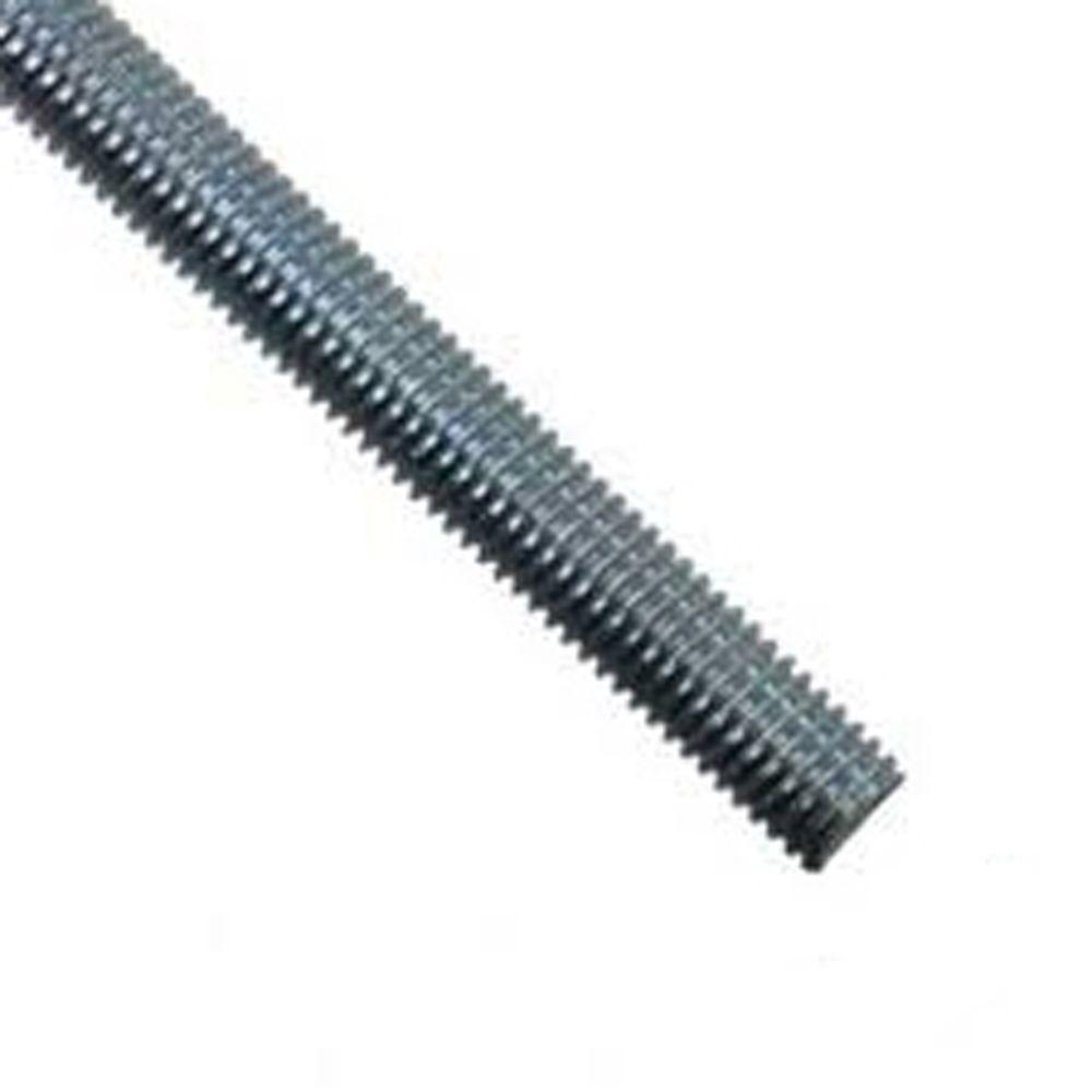 Superstrut 1 2 In X 10 Ft Galvanized Threaded Electrical Support Rod Zr1048 The Home Depot