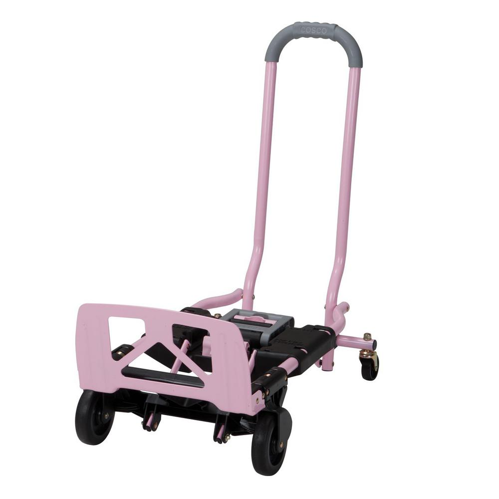 2 In 1 Convertible Hand Truck And Cart Pink