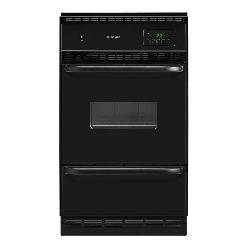 Frigidaire 24 in. Single Gas Wall Oven in Black