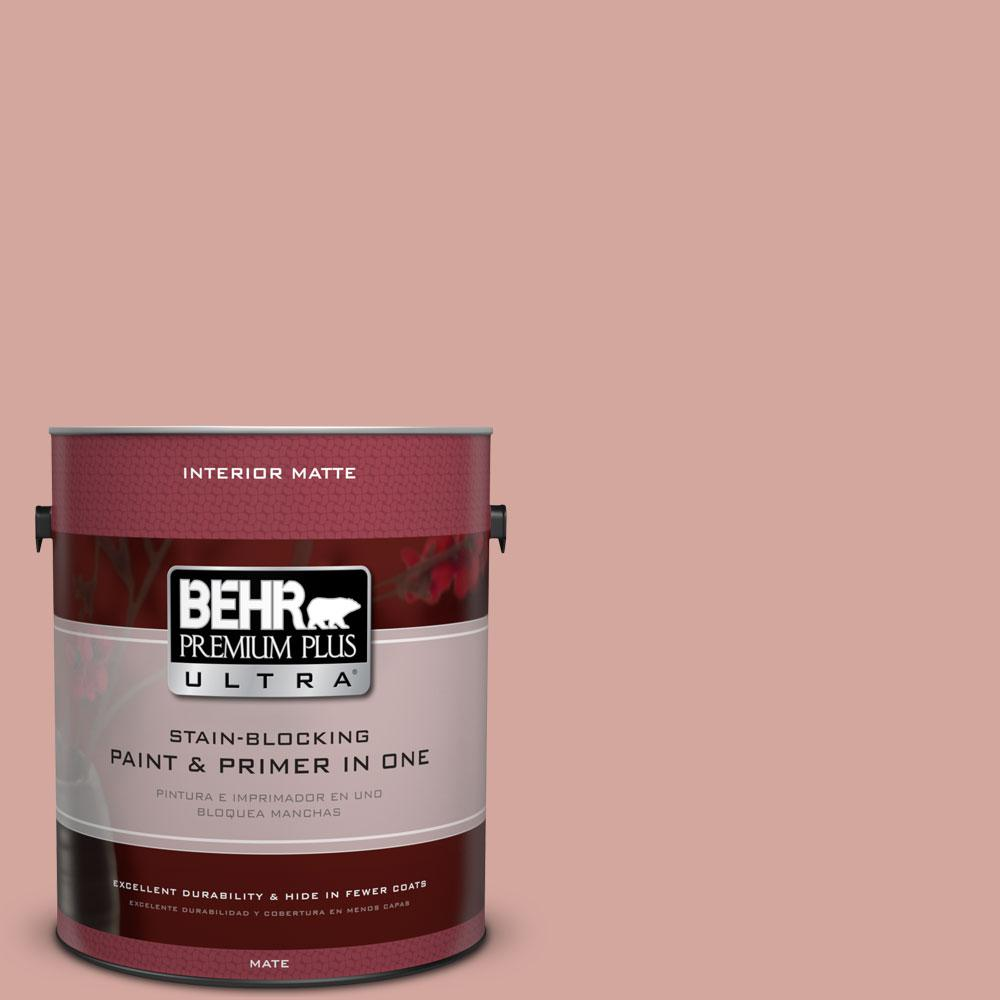 1 gal. #200E-3 Cinnamon Cocoa Flat/Matte Interior Paint