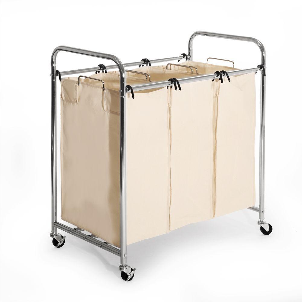 Seville Clics 3 Bag Laundry Sorter