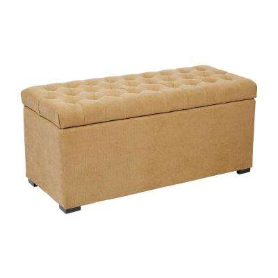 Sahara Shultz Nugget Tufted Storage Bench