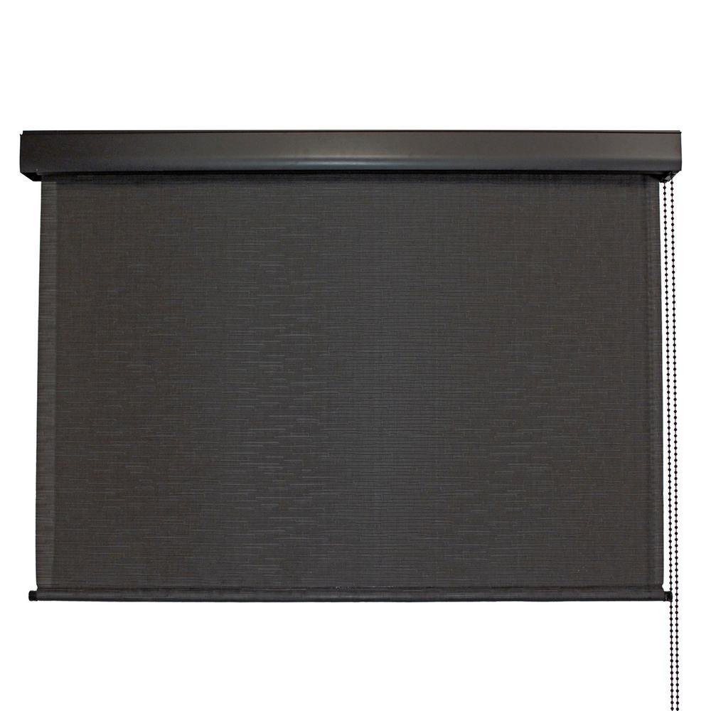 SeaSun Siesta Premium PVC Fabric Exterior Roller Shade Cord Operated with... by SeaSun