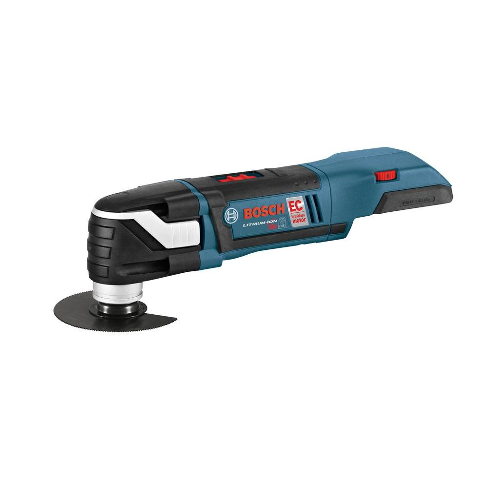 bosch 18 volt cordless oscillating bare tool with insert tray for l boxx 2 mxh180bn the home depot. Black Bedroom Furniture Sets. Home Design Ideas