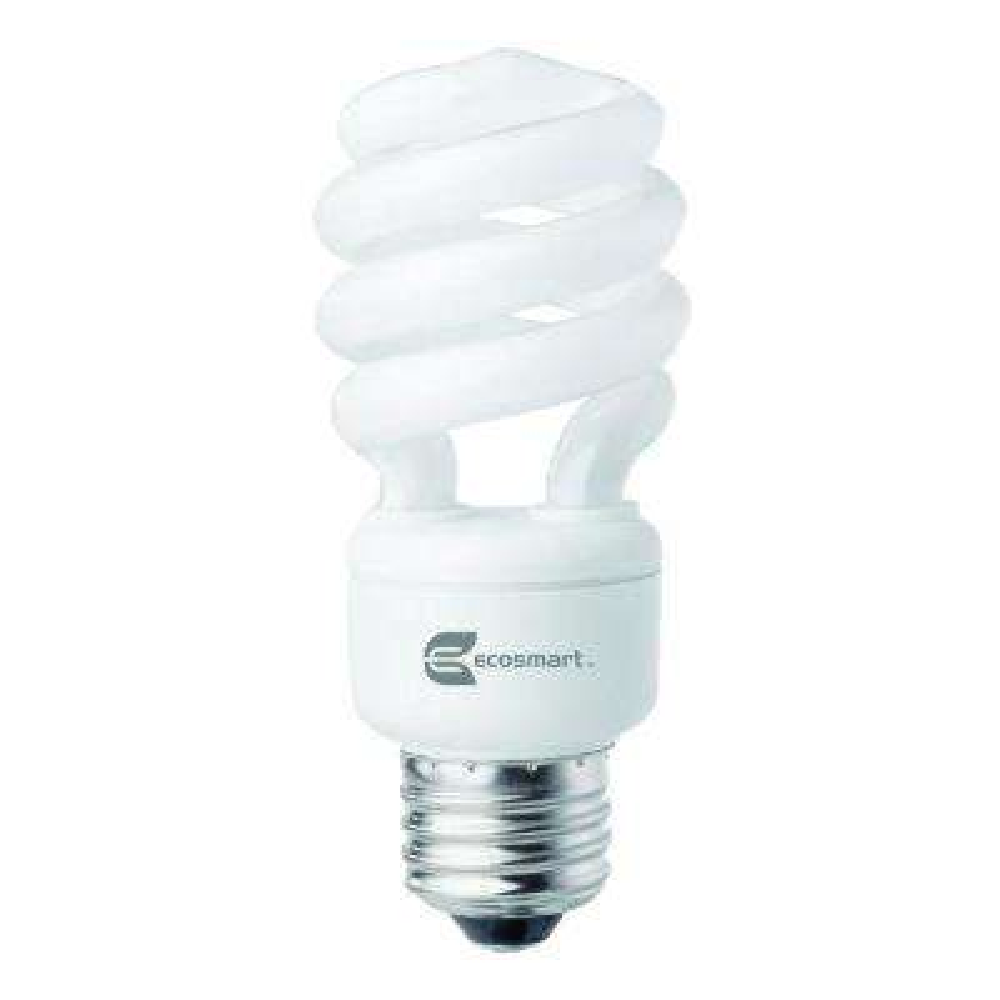60W Equivalent Daylight  Spiral CFL Light Bulb (24-Pack) (E)*
