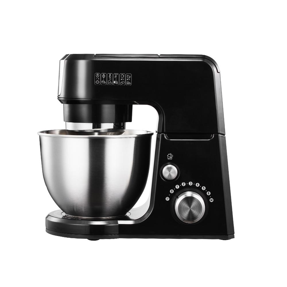 GM25 2.6 Qt. Mini 4-in-1 Tilt Head Black Stand Mixer