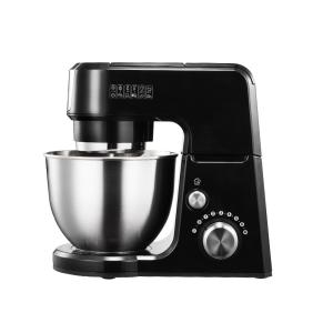 GM25 2.6 Qt. Mini 4-in-1 Tilt Head Black Stand Mixer by