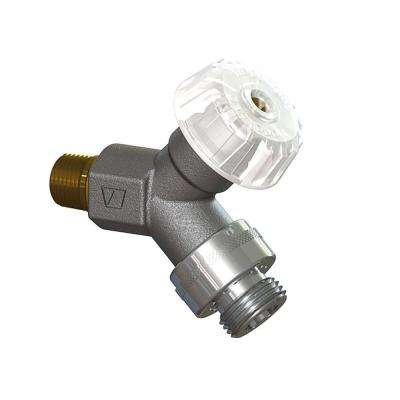 1/2 in. x 1/2 in. MPT x Copper Sweat Mild Climate Polished Chrome Wall Hydrant with Single-Check Vacuum Breaker