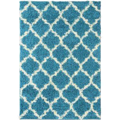 5 X 7 Turquoise Area Rugs Rugs The Home Depot