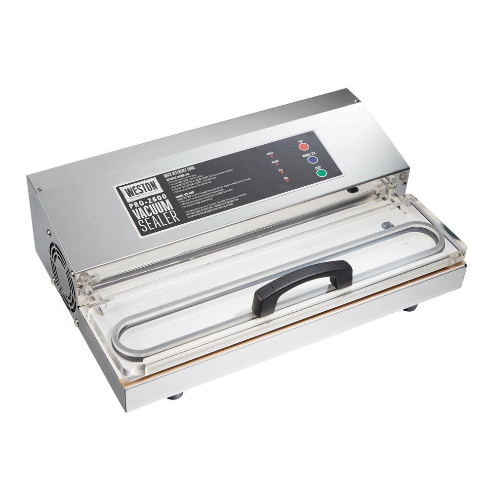Pro 2600 Stainless Steel Food Vacuum Sealer