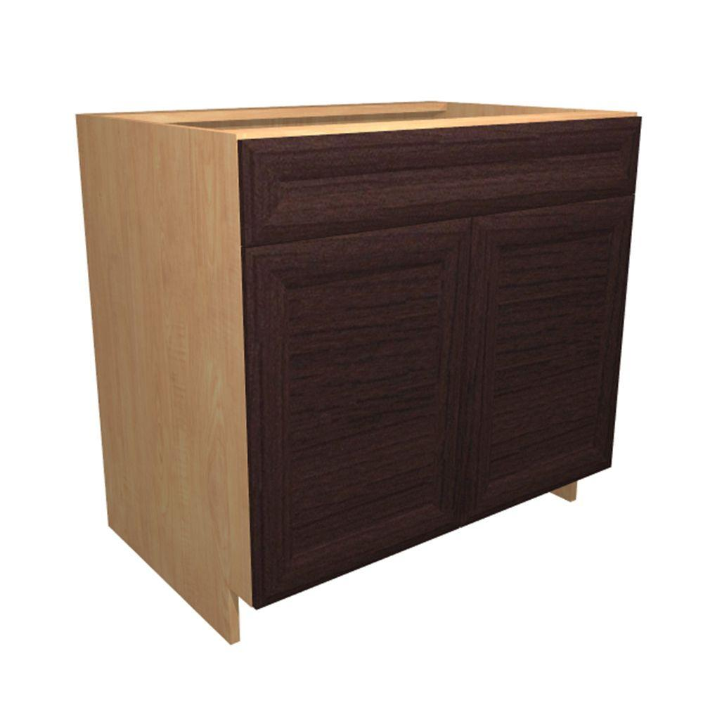 Charmant Home Decorators Collection 24x34.5x24 In. Dolomiti Base Cabinet With 1 Wire  Pullout Tray
