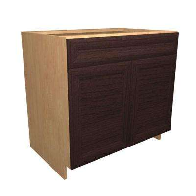Dolomiti Ready to Assemble 24 x 34.5 x 24 in. Base Cabinet 2 Soft Closes Door and 1 Soft Close