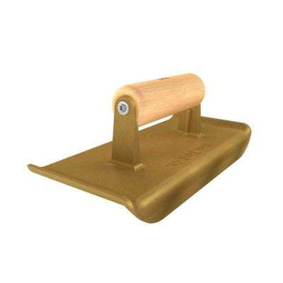 9 in. x 4 in. Bronze Jumbo Hand Edger with Wood Handle