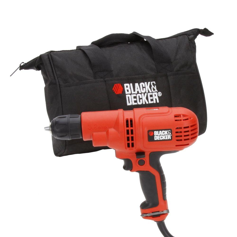 BLACK+DECKER 5.2 Amp 3/8 in. Drill/Driver