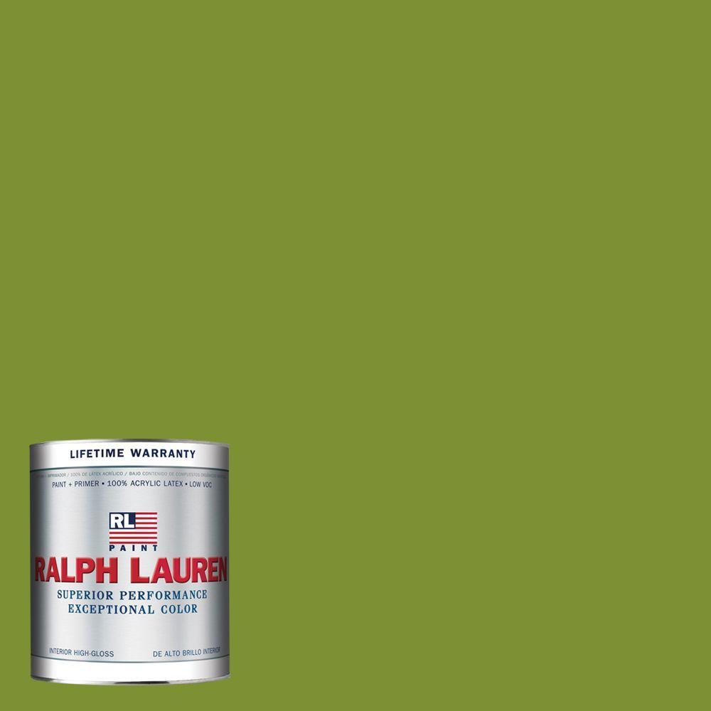 Ralph Lauren 1-qt. Southern Green Hi-Gloss Interior Paint