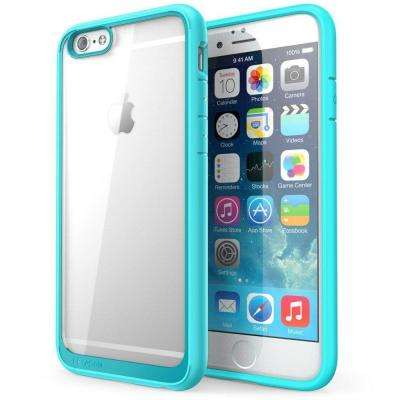 Halo Series 4.7 in. Case for Apple iPhone 6/6S, Clear Blue