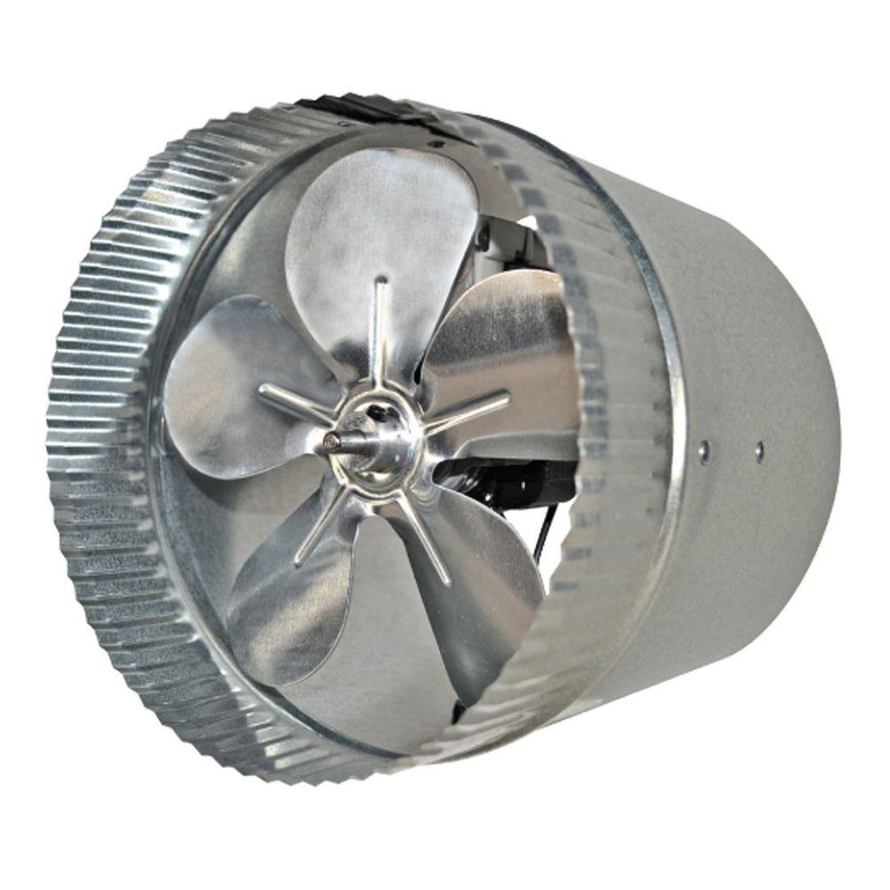 6 in. Duct Fan with More Powerful Motor