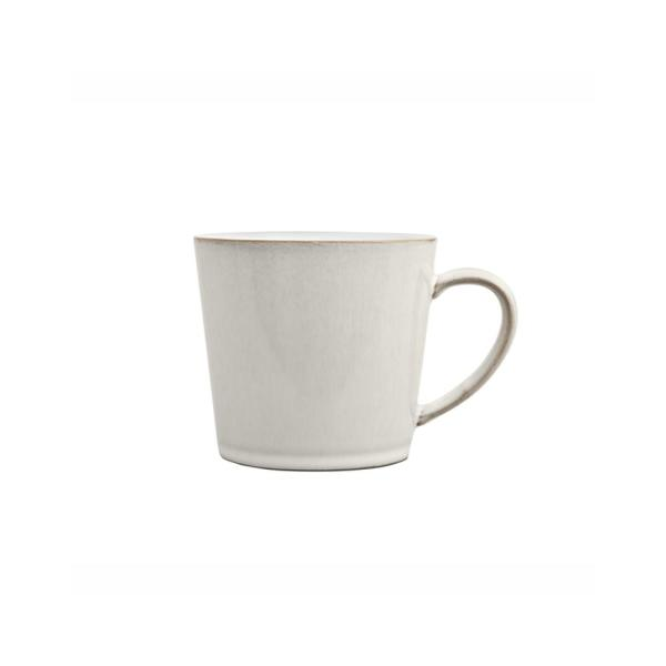 Denby Natural Canvas 10 oz. White Stoneware Large Mug CNV-112
