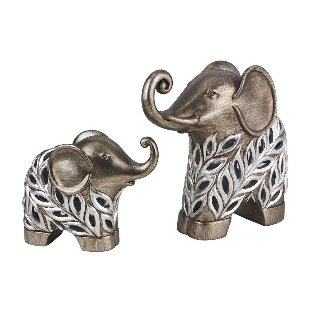 Kiara Elephant Polyresin Decorative Piece