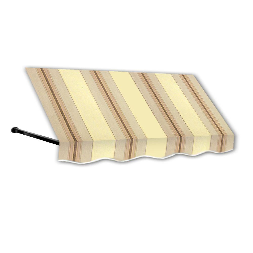 10 ft. Dallas Retro Window/Entry Awning (24 in. H x 36