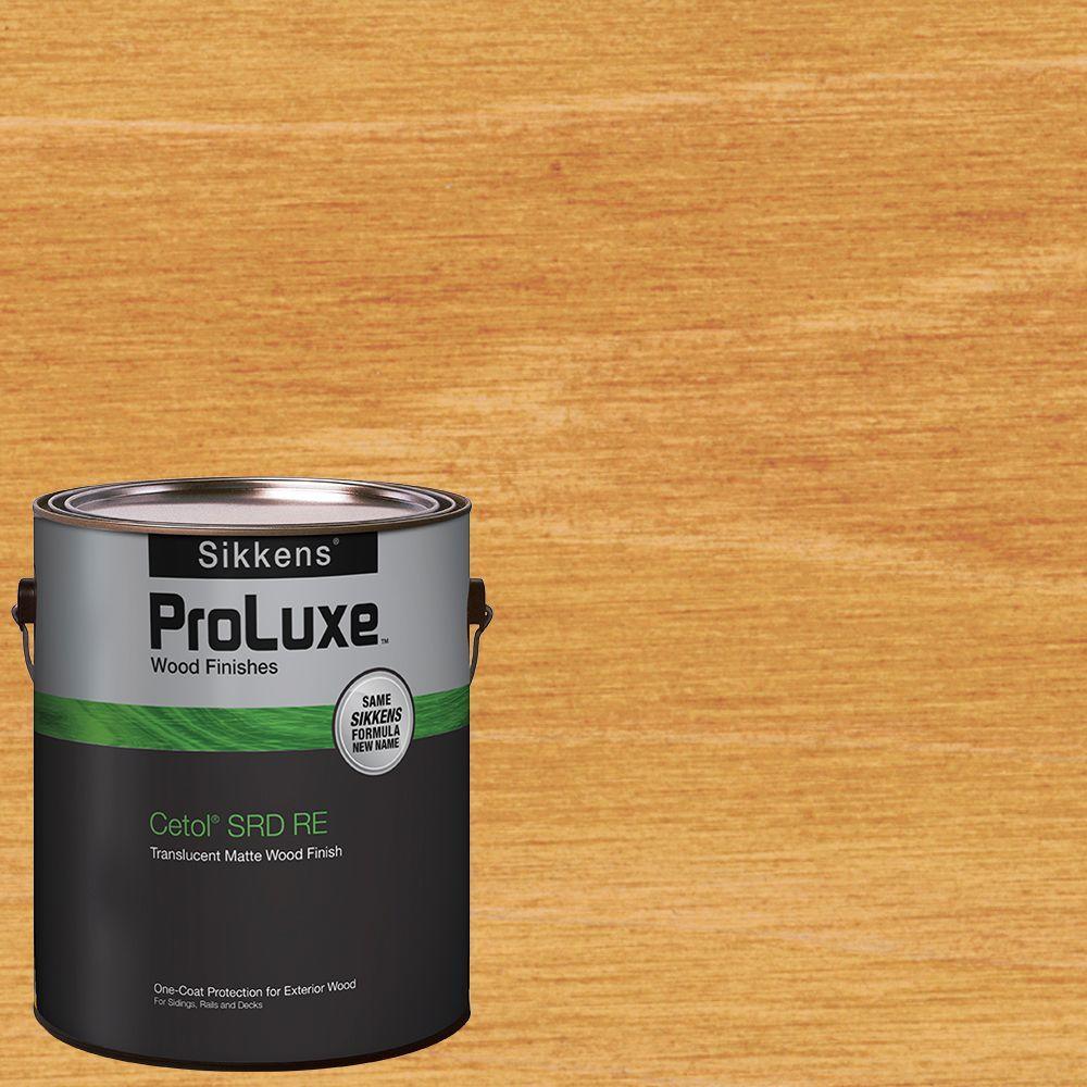 1 gal. Natural Oak Cetol SRD RE Exterior Wood Finish