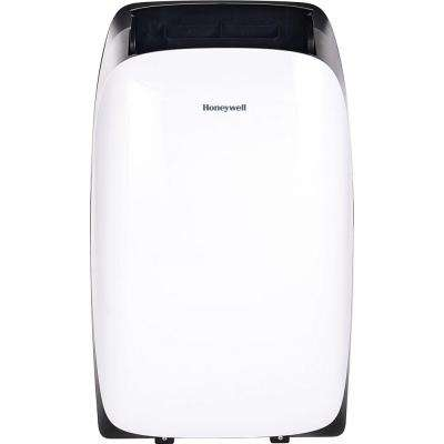 HL Series 14,000 BTU Portable Air Conditioner with Dehumidifier and Remote Control - White/Black