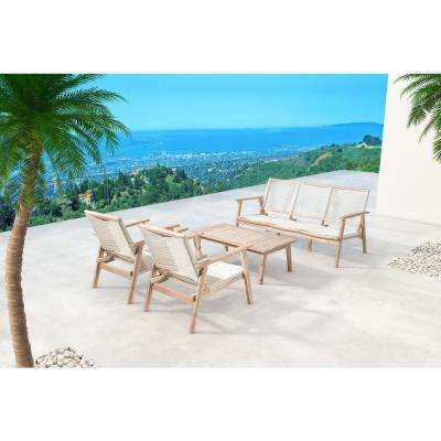 South Port Wood Outdoor Sofa