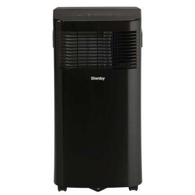 6000 BTU (3000 SACC) Portable Air Conditioner with Dehumidifier in Black