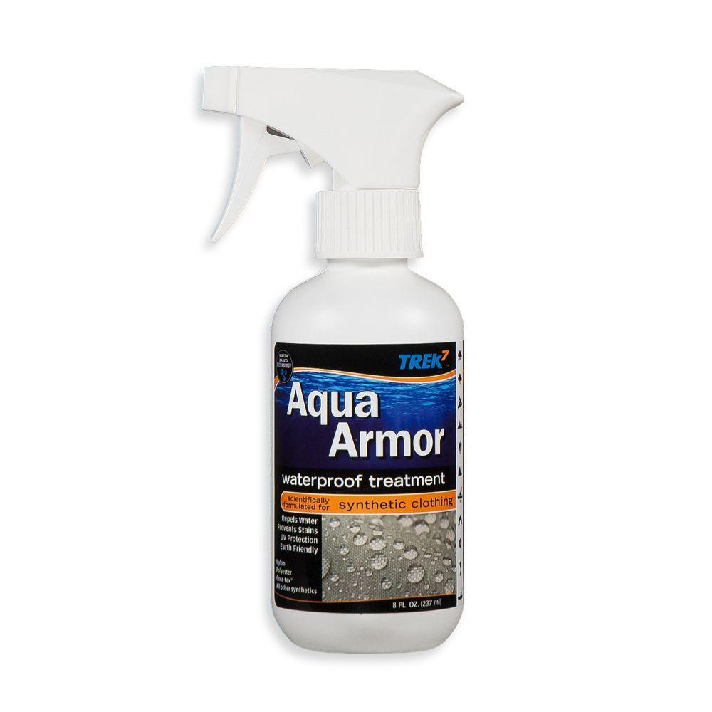 Trek7 Aqua Armor 8 oz. Fabric Waterproofing Spray for Syn...
