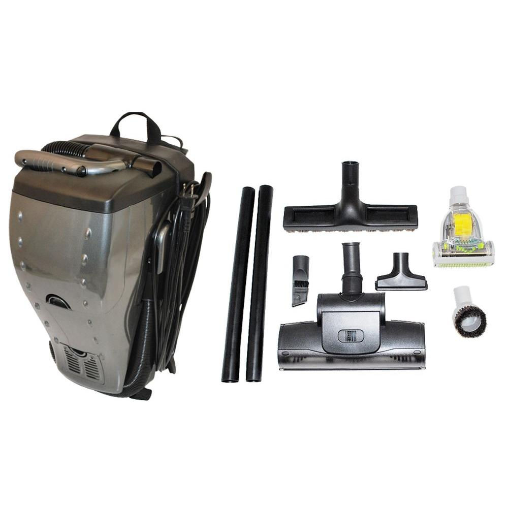 Gruene Back Up Back Pack Vacuum Multi Purpose Home Cleaning System
