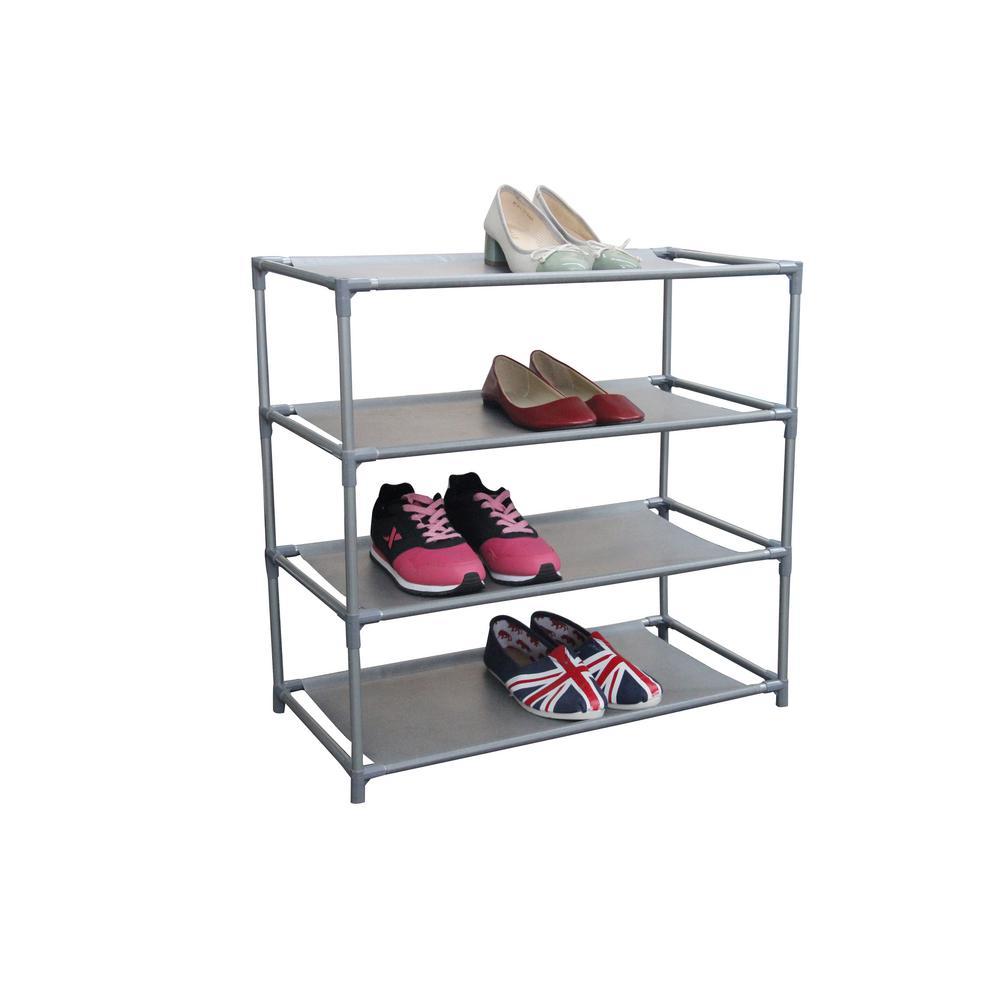 12-Pair Non Woven Shoe Organizer