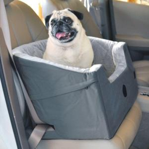 K&H Pet Products Bucket Booster Large Gray Pet Car Seat by K&H Pet Products