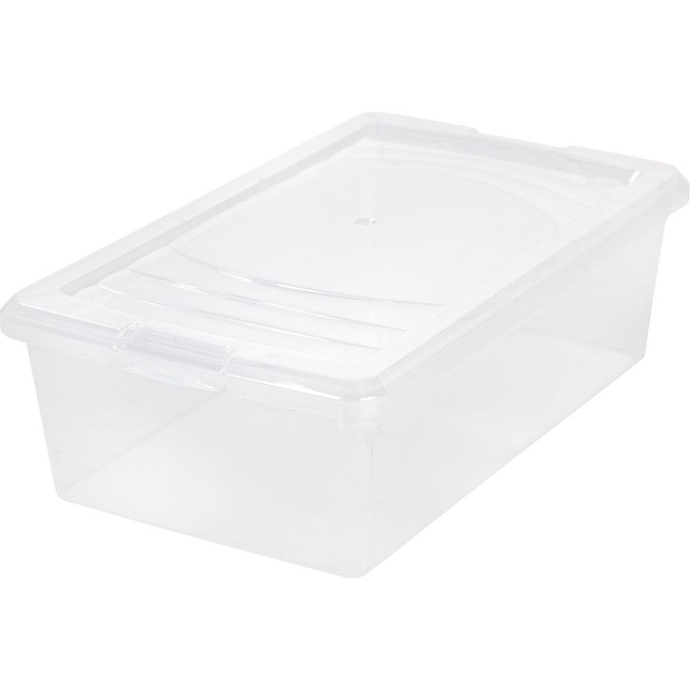 6 Qt. Modular Storage Box in Clear (Pack of 10)  sc 1 st  The Home Depot & Sterilite 116 Qt. Ultra Storage Box-19908604 - The Home Depot