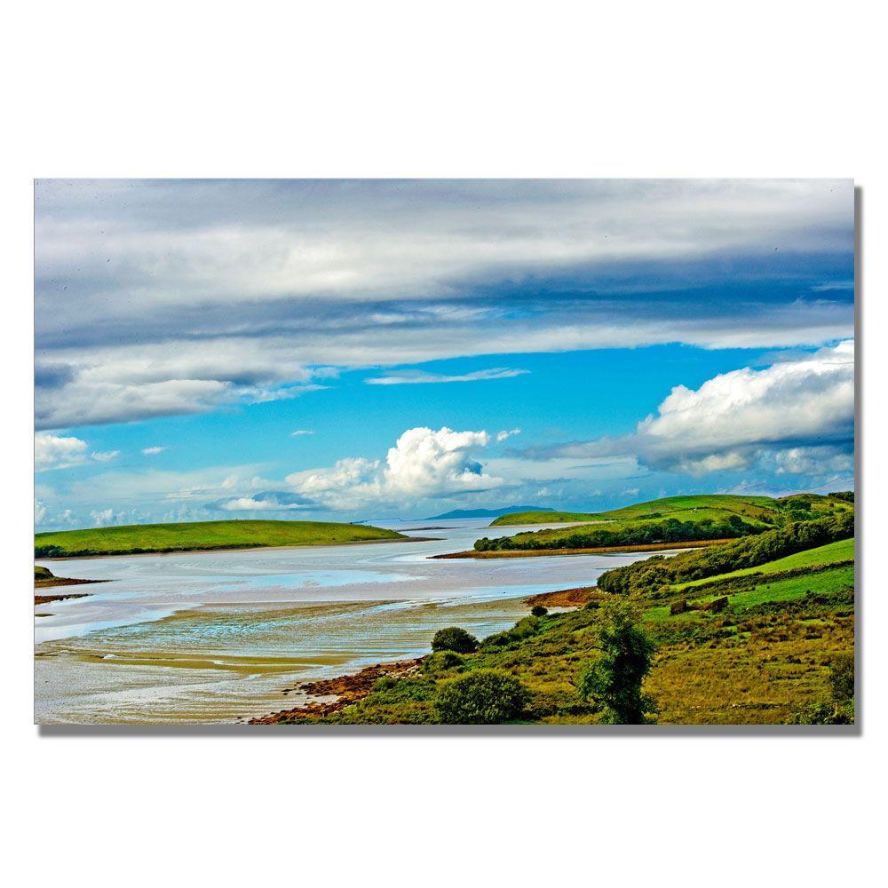 16 in. x 24 in. Irish Afternoon Canvas Art