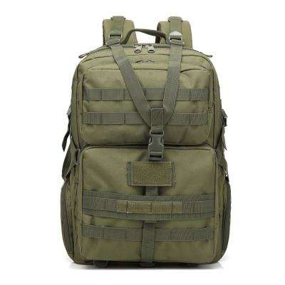 BL068 3P 45 l Outdoor Marching Knapsack Tactical 12 in. Army Green Backpack