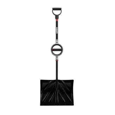 18 in. Combo Snow Shovel with 360-Degree Grip Rotating Handle