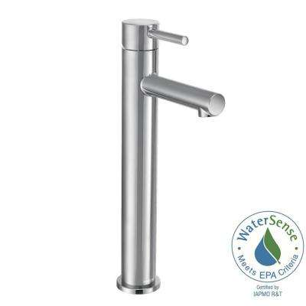 Align Single Hole Single-Handle Bathroom Faucet in Chrome