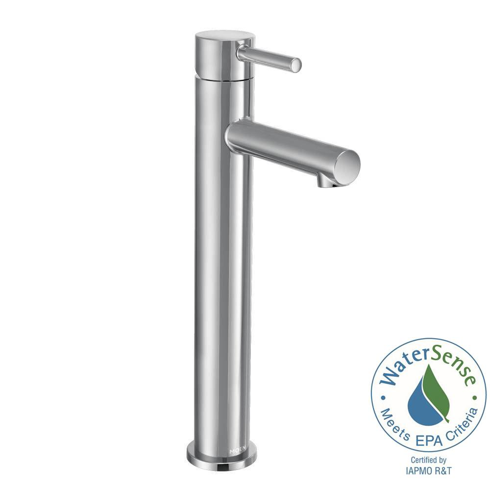MOEN Align Single Hole 1-Handle Bathroom Faucet in Chrome-6192 ...