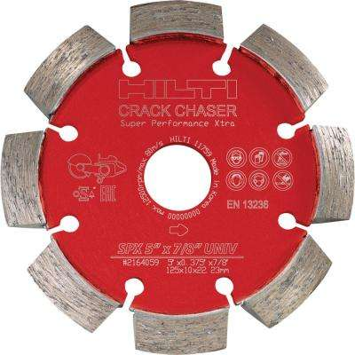 5 in. Crack Chaser SPX Diamond Blade for Concrete Repair