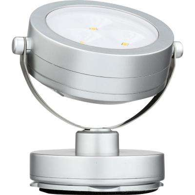 3 in. Grey Under Cabinet Puck Light