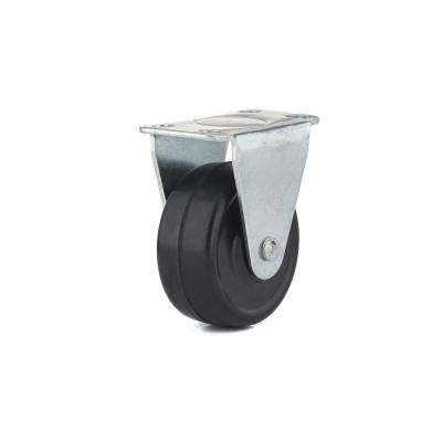 1-9/16 in. 20 kg General-Duty Rubber Rigid Casters