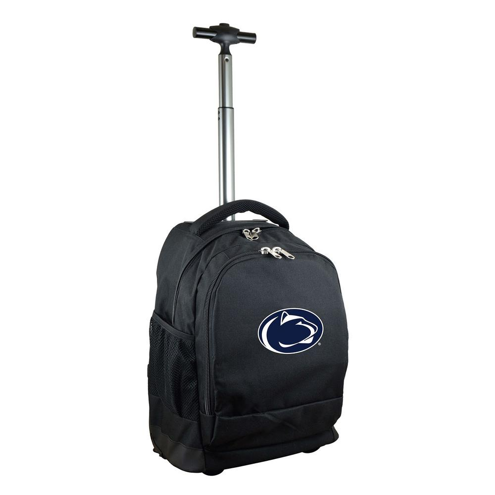 NCAA Penn State 19 in. Black Wheeled Premium Backpack