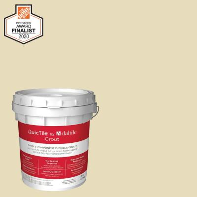 QuicTile D158 Ivory 9 lb. Pre-Mixed Urethane Grout