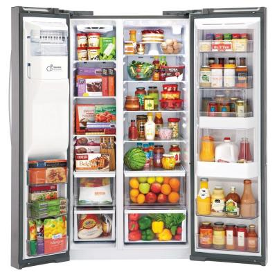 26.1 cu. ft. Side by Side Refrigerator with ColdSaver and Door-in-Door in Stainless Steel